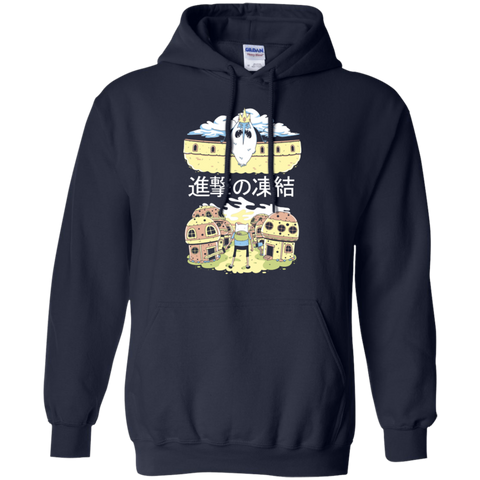Attack on Freeze Pullover Hoodie