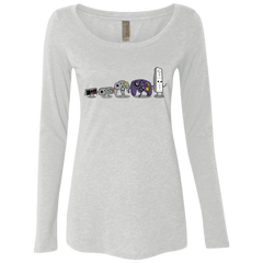 Evolution controller NES Women's Triblend Long Sleeve Shirt