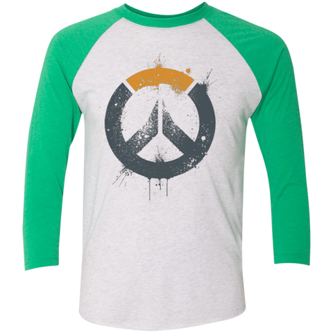 Overwatch Triblend 3/4 Sleeve