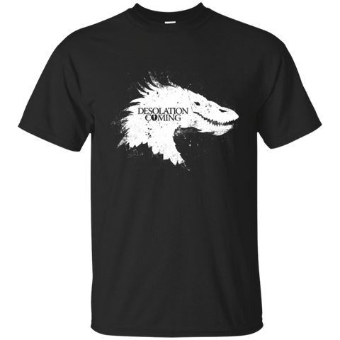 Desolation is Coming white T-Shirt