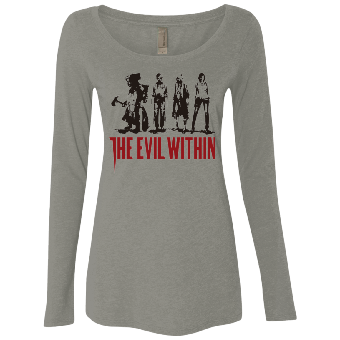 The Evil Within Women's Triblend Long Sleeve Shirt