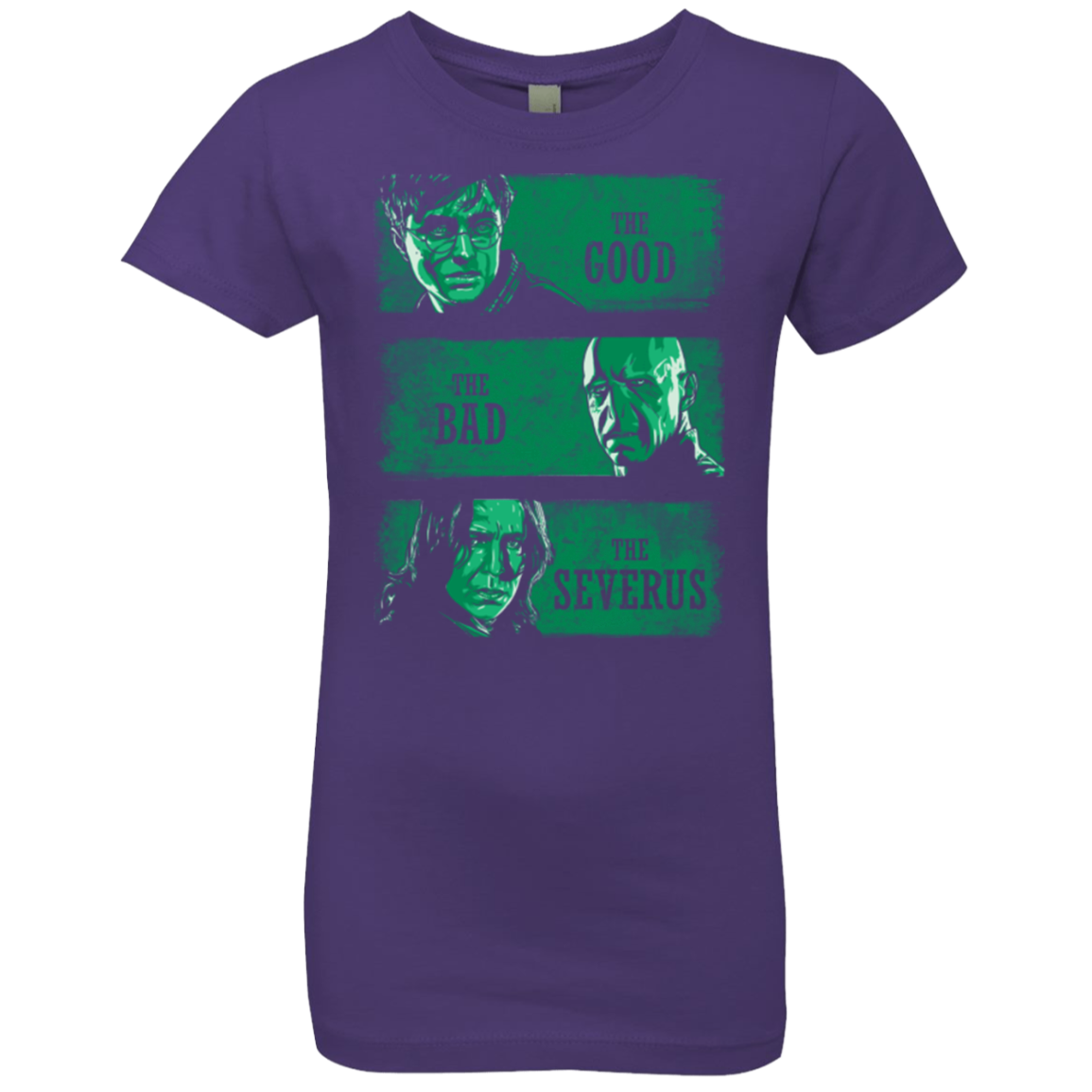 The Good the Bad and the Severus Girls Premium T-Shirt