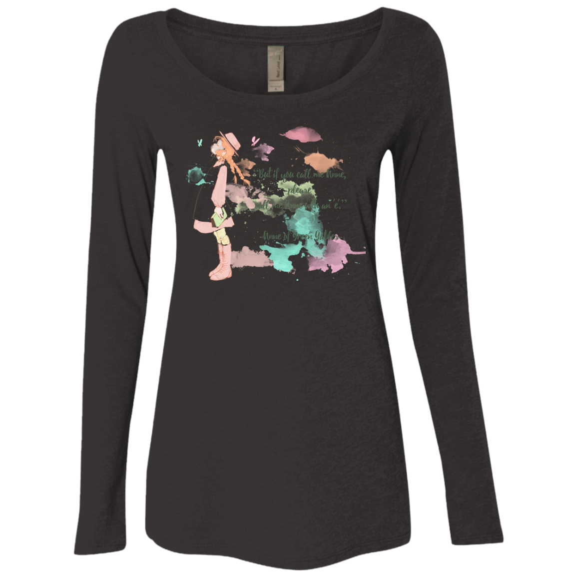 Anne of Green Gables 4 Women's Triblend Long Sleeve Shirt