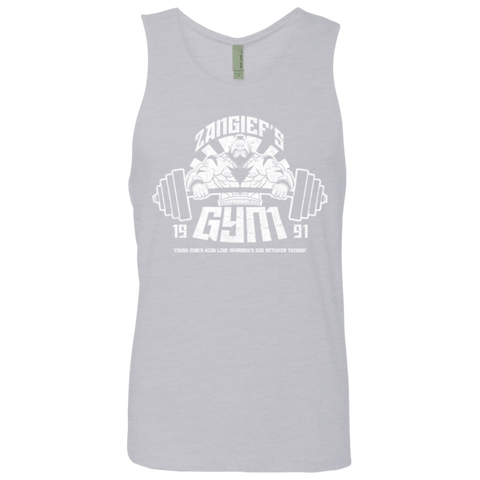 Zangief Gym Men's Premium Tank Top