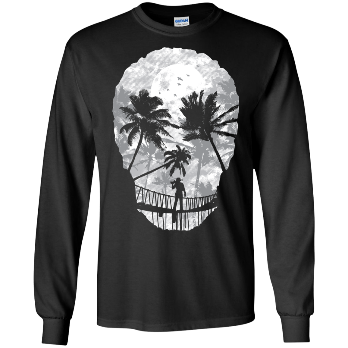 Desolate Death Men's Long Sleeve T-Shirt