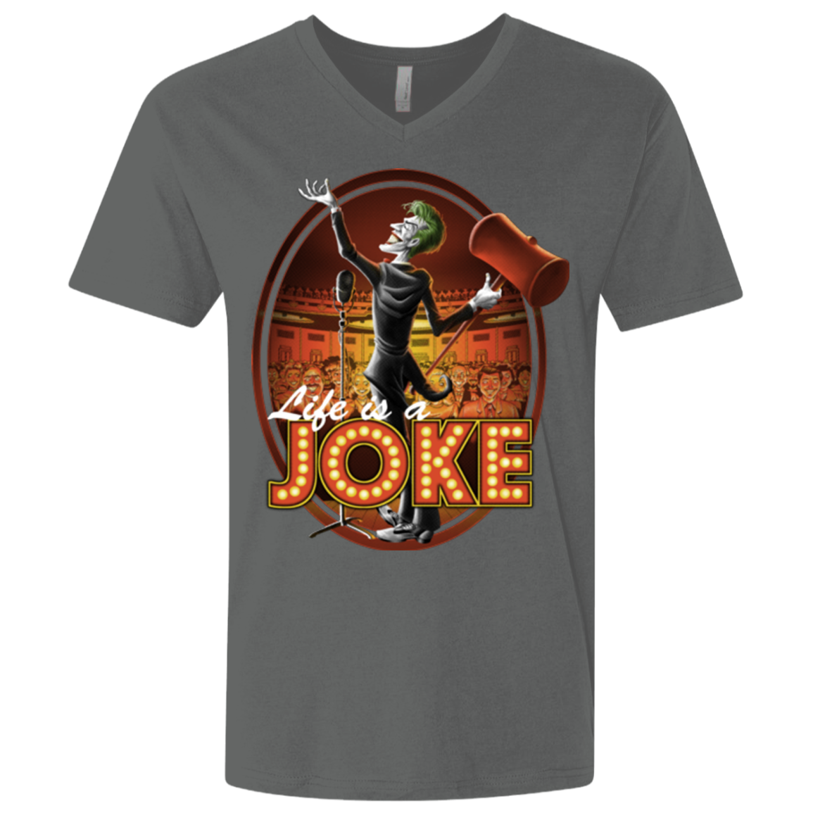 Life Is A Joke Men's Premium V-Neck