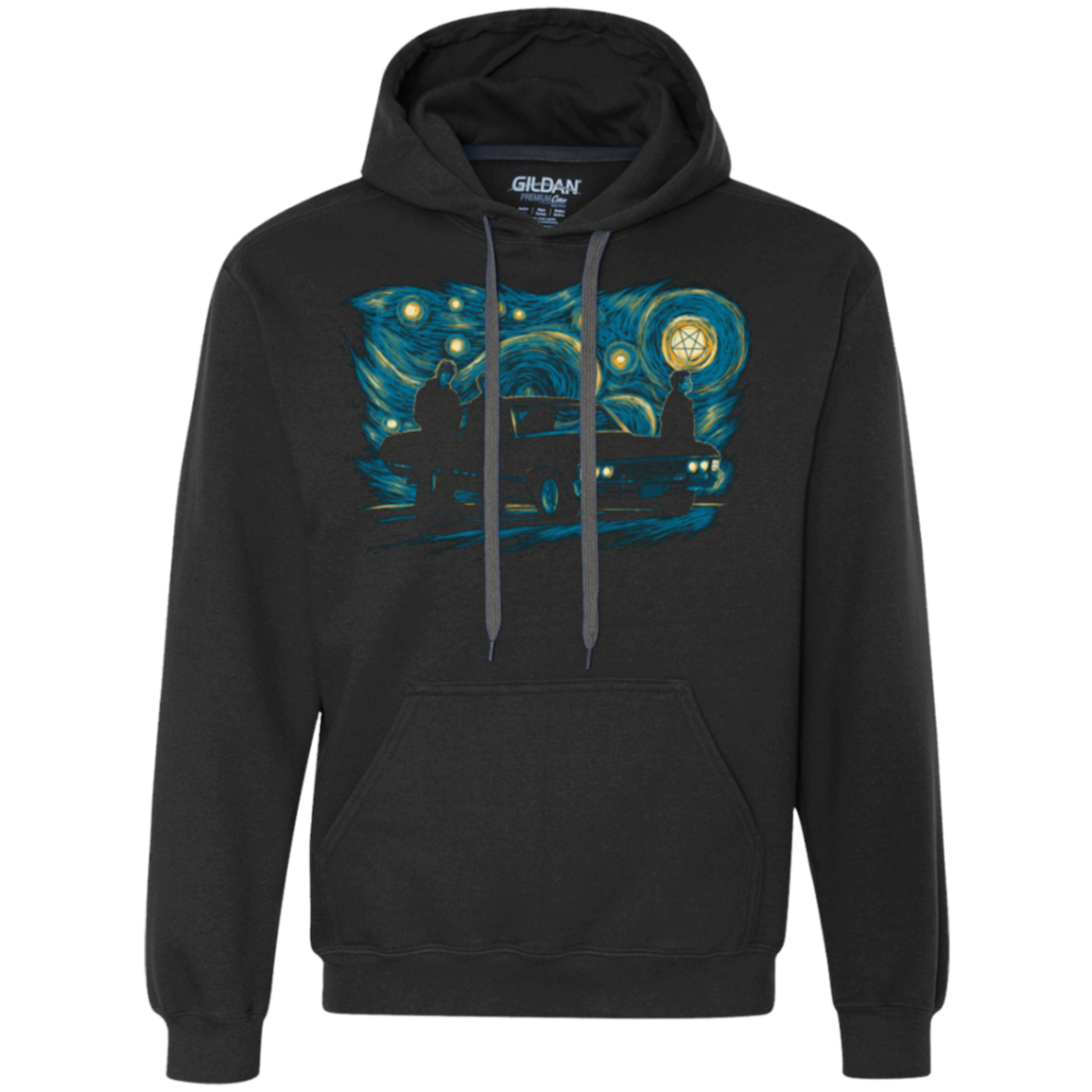 Supernatural Night Premium Fleece Hoodie