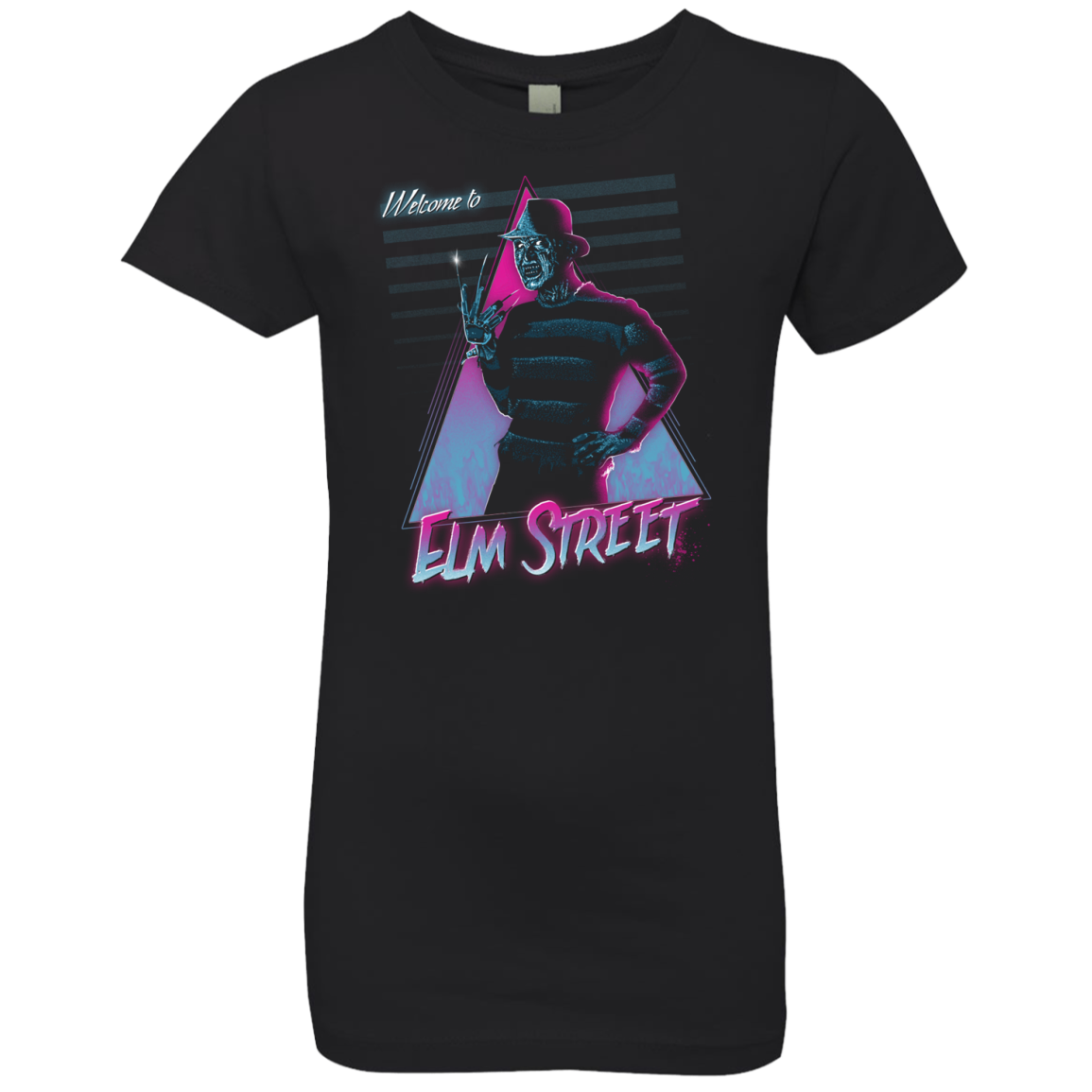 Welcome to Elm Street Girls Premium T-Shirt