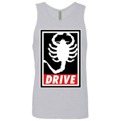 Obey and drive Men's Premium Tank Top