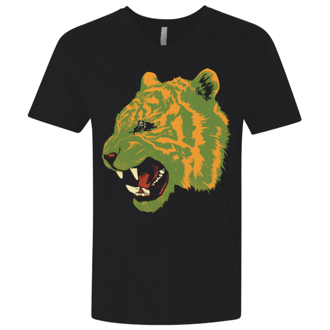 Eye Of The Tiger Men's Premium V-Neck