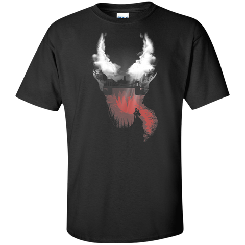 Symbiote City Tall T-Shirt