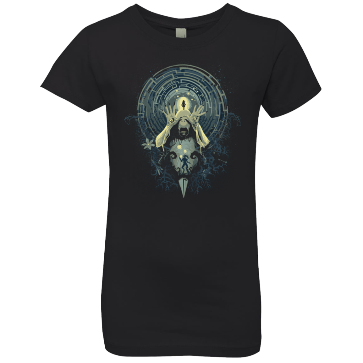 Pans Nightmare Girls Premium T-Shirt