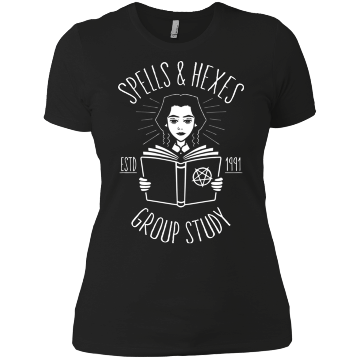 Spells and Hexes Group Study Women's Premium T-Shirt