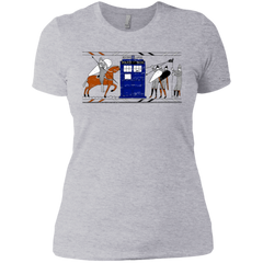 Nocens Lupus Tardis in the Bayeux Tapestry Women's Premium T-Shirt