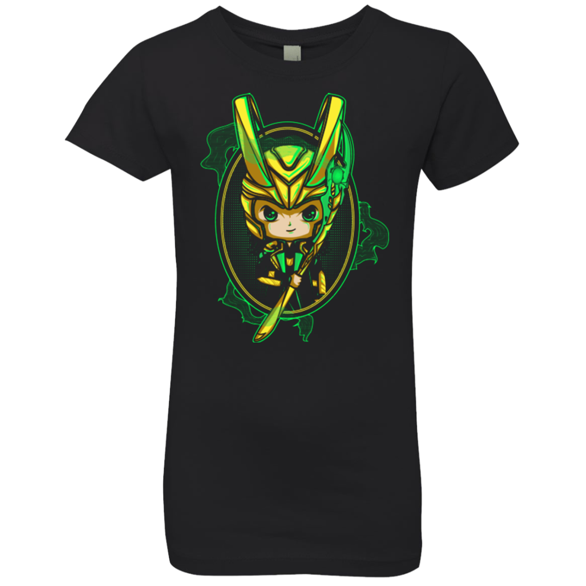 Loki Portrait Girls Premium T-Shirt
