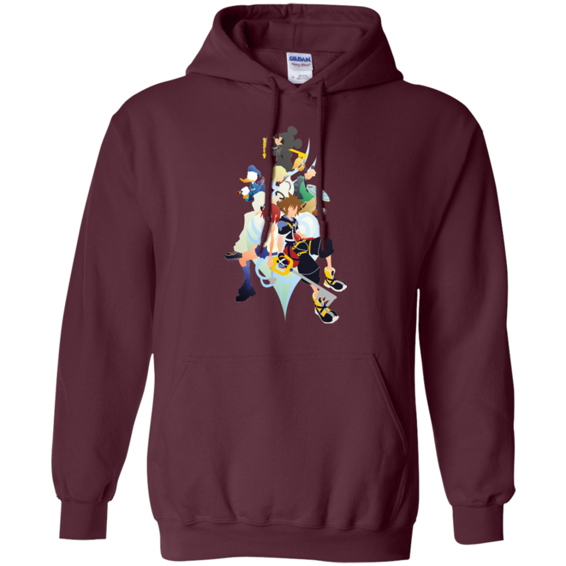 Kingdom Hearts Pullover Hoodie