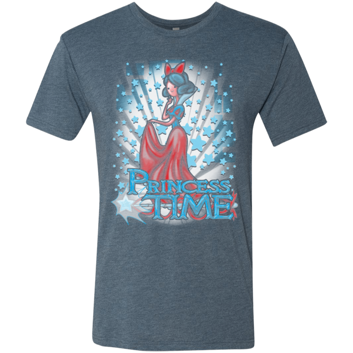 Princess Time Snow White Men's Triblend T-Shirt