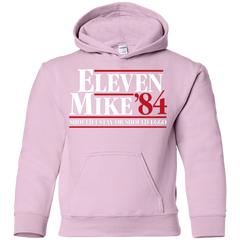 Eleven Mike 84 - Should I Stay or Should Eggo Youth Hoodie