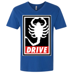 Obey and drive Men's Premium V-Neck