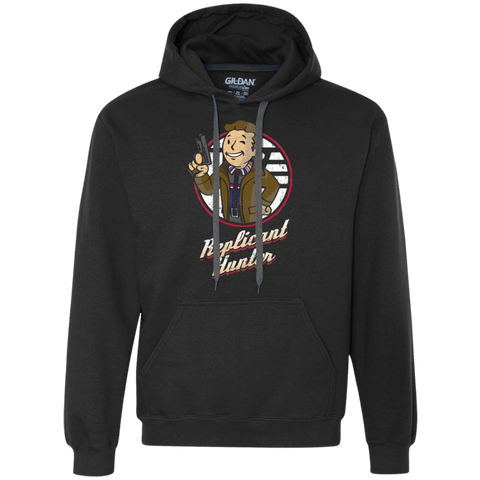 Replicant Hunter Premium Fleece Hoodie