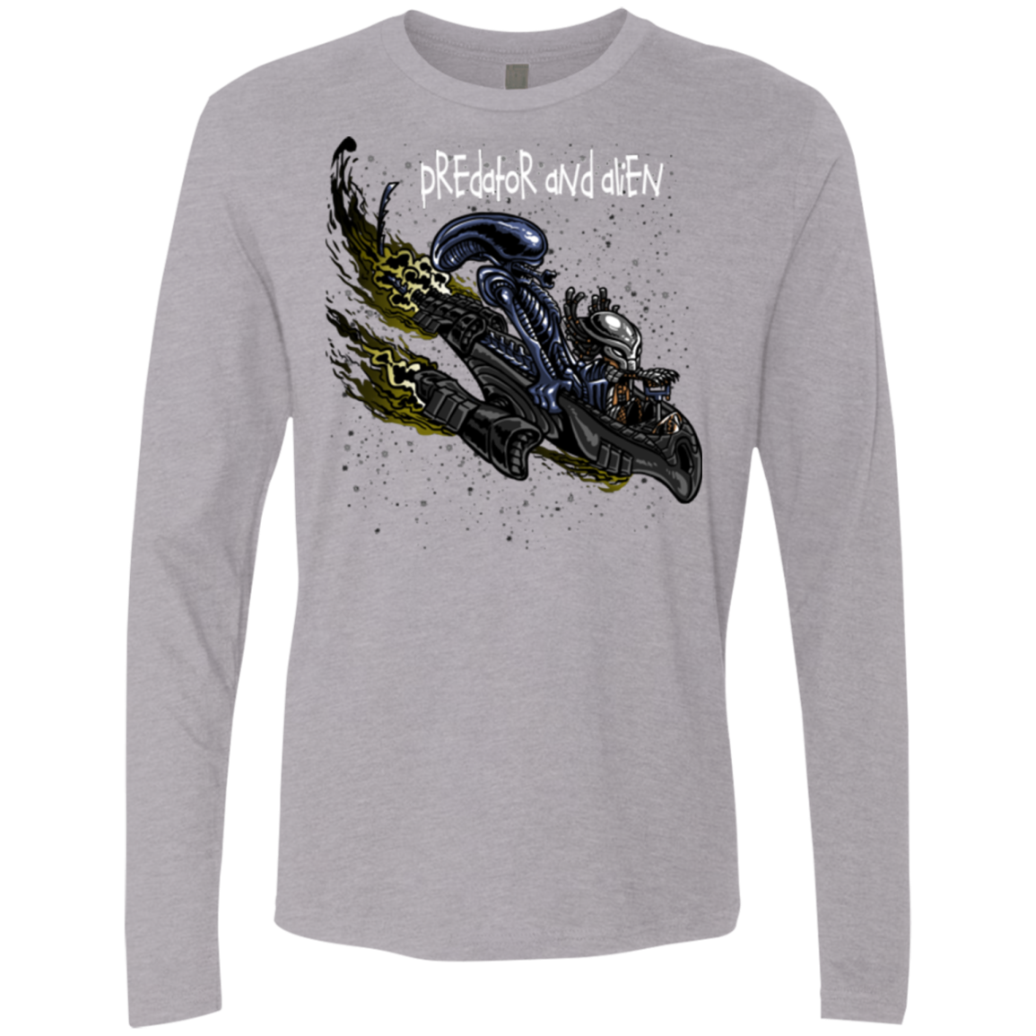 Predator and Alien Men's Premium Long Sleeve