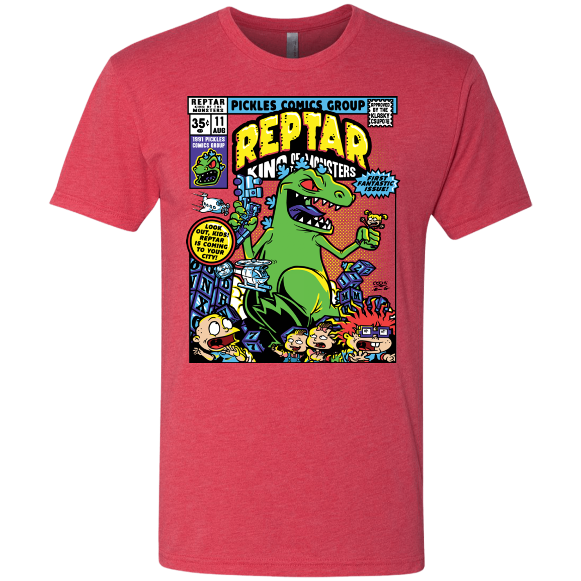 REPTAR Men's Triblend T-Shirt