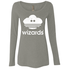 Wizards Women's Triblend Long Sleeve Shirt