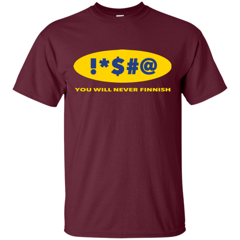 Swearing Never Finnish T-Shirt