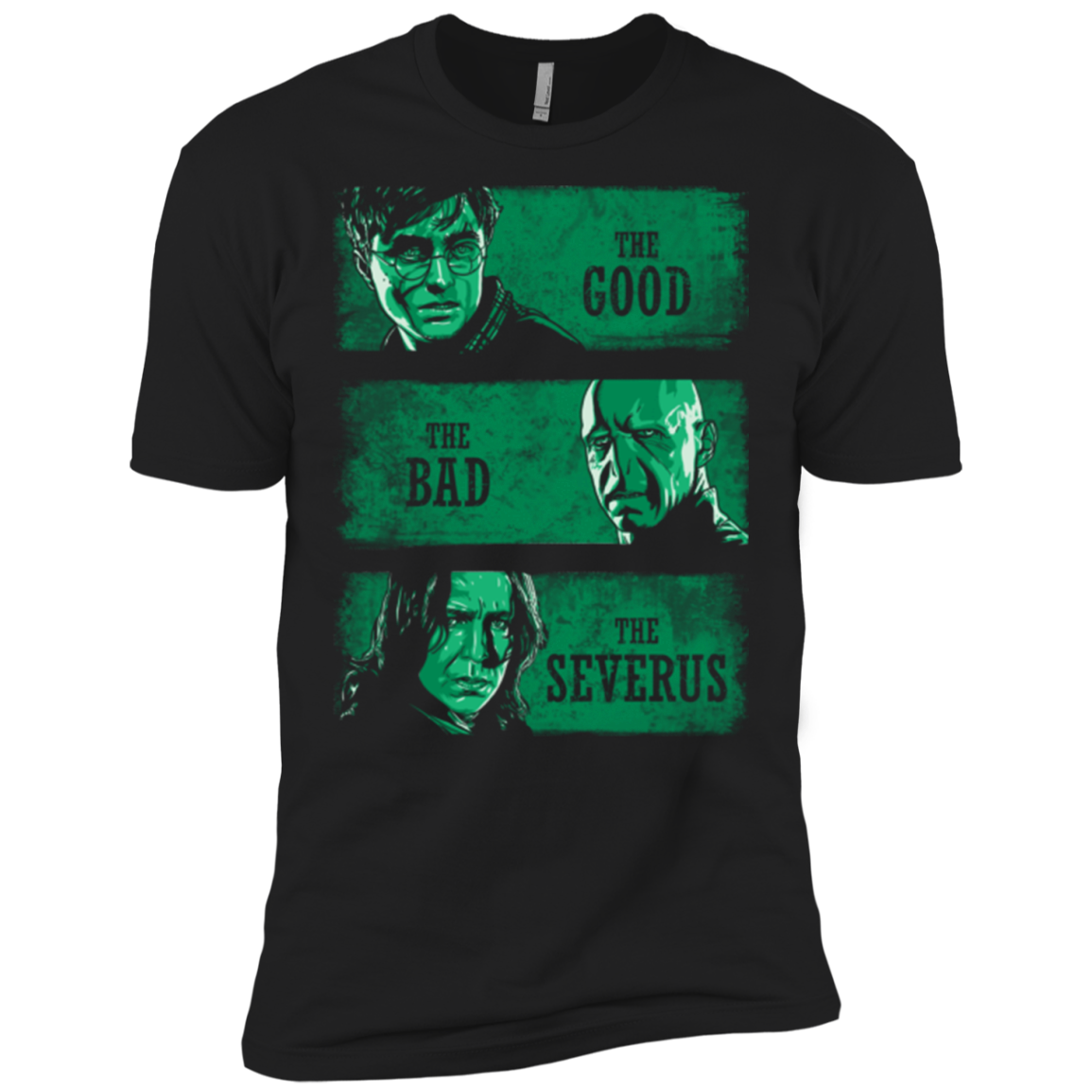 The Good The Bad And The Severus Men'S Premium T-Shirt