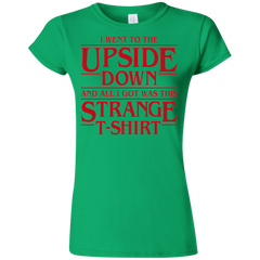 I Went to the Upside Down Junior Slimmer-Fit T-Shirt