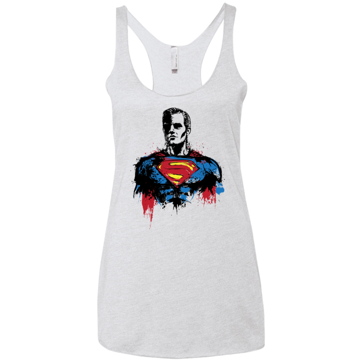 Return of Kryptonian Women's Triblend Racerback Tank
