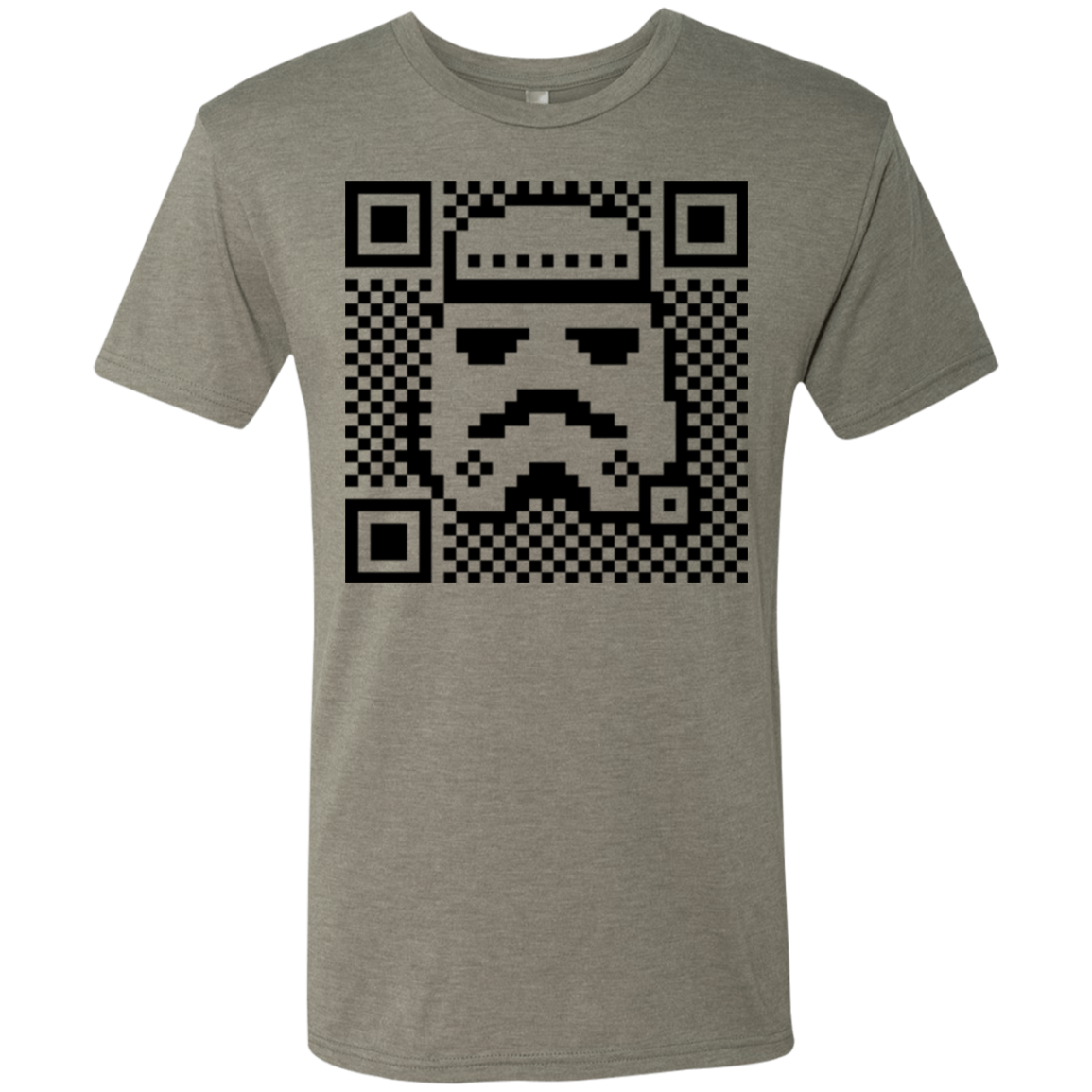 QR trooper Men's Triblend T-Shirt