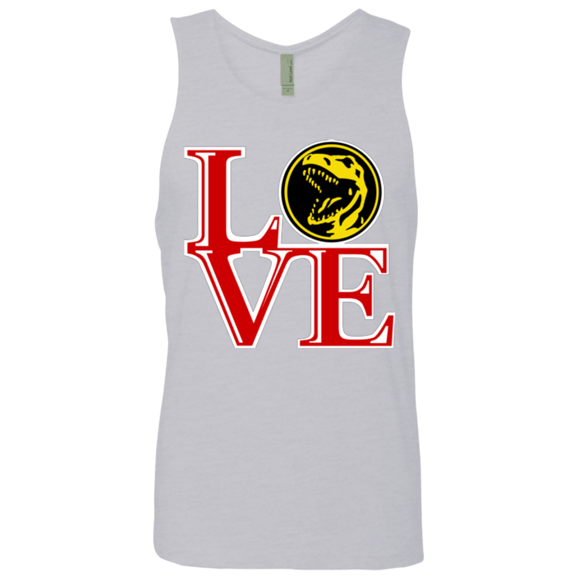Red Ranger LOVE Men's Premium Tank Top
