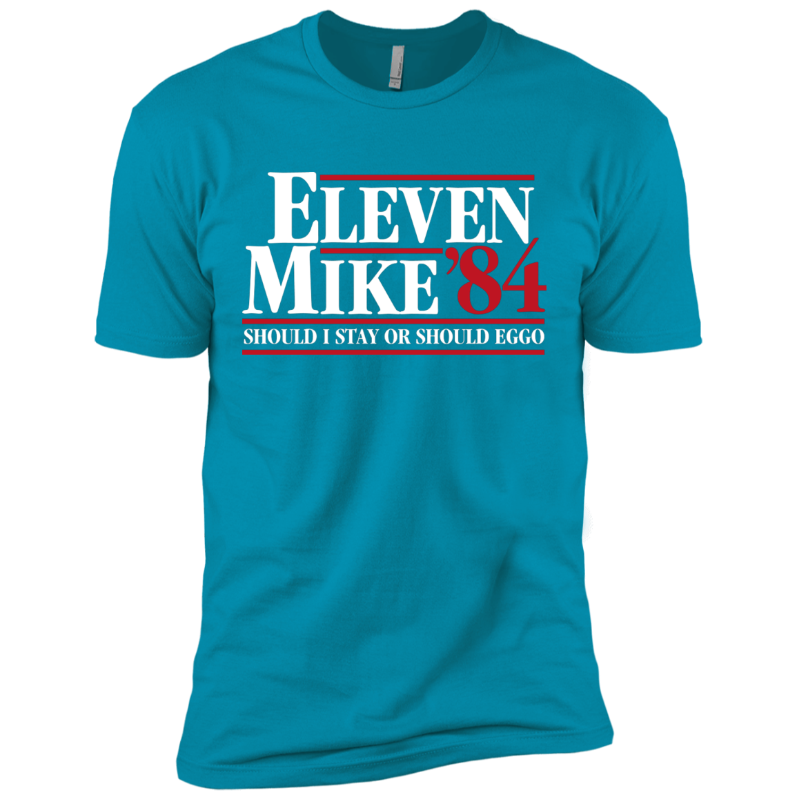 Eleven Mike 84 - Should I Stay or Should Eggo Men's Premium T-Shirt