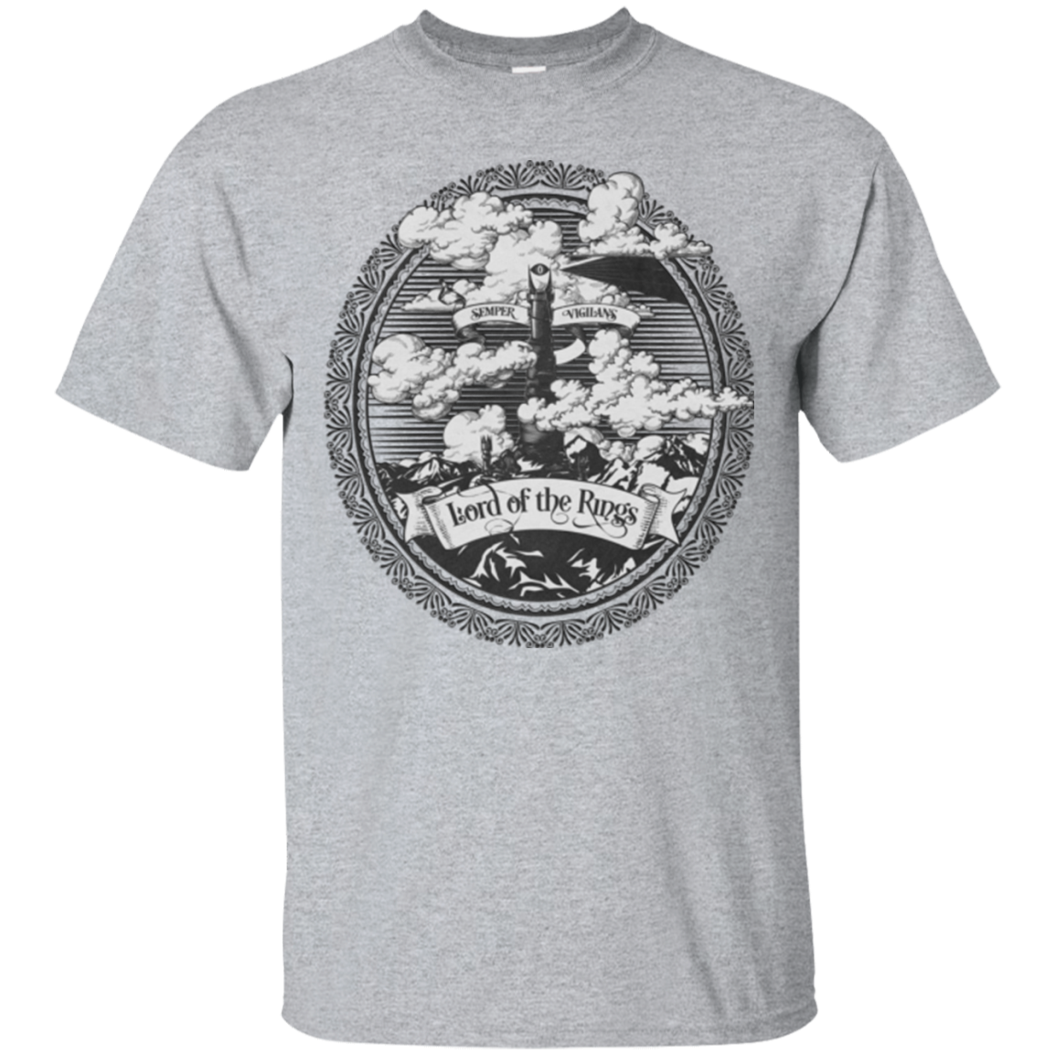Vintage Mordor Tower T-Shirt