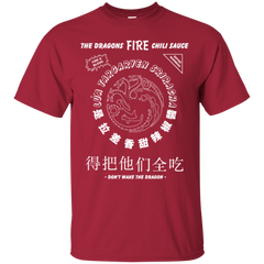 Dragons Fire Chili Sauce T-Shirt