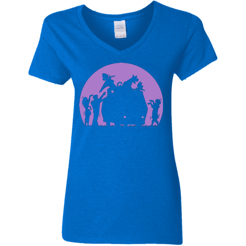 Zoinks They're Zombies Women's V-Neck T-Shirt