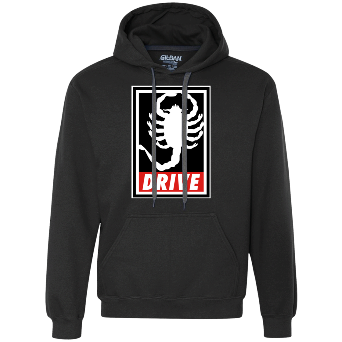 Obey and drive Premium Fleece Hoodie