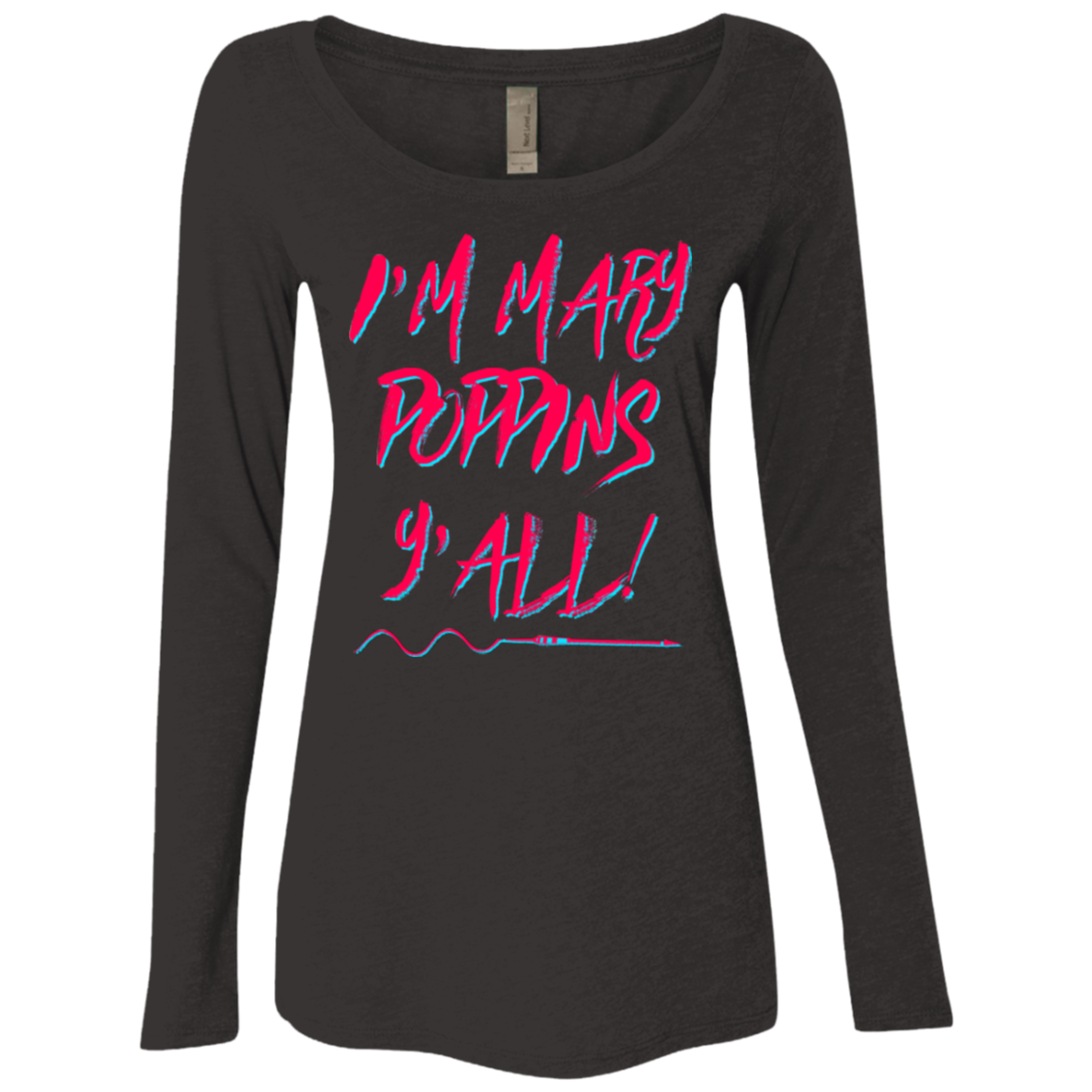 Y'all! Women's Triblend Long Sleeve Shirt