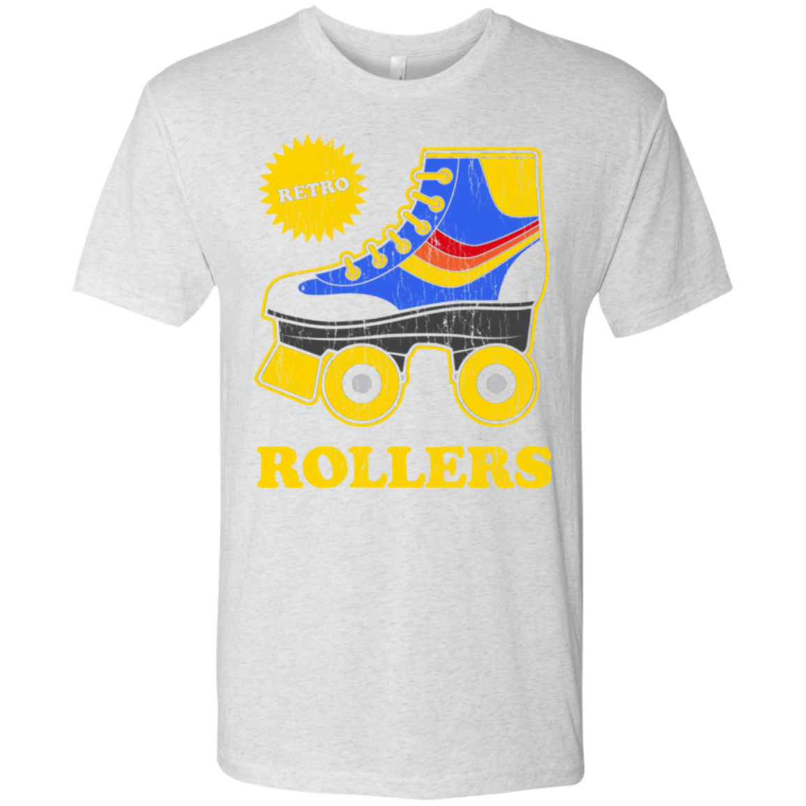 Retro rollers Men's Triblend T-Shirt