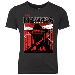 Visit Hawkins Youth Triblend T-Shirt