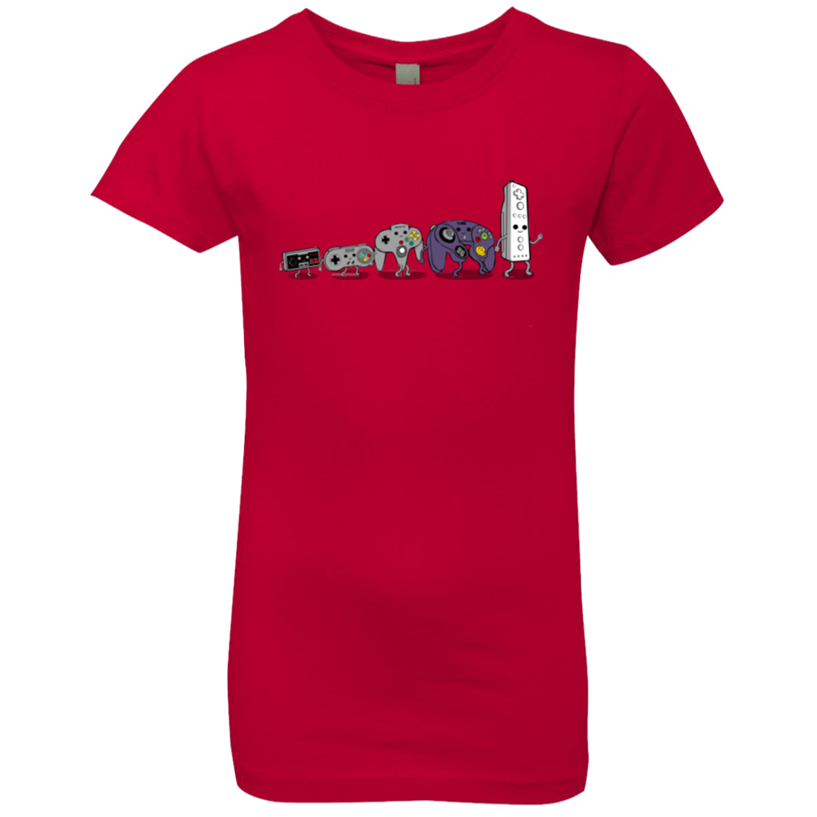 Evolution controller NES Girls Premium T-Shirt