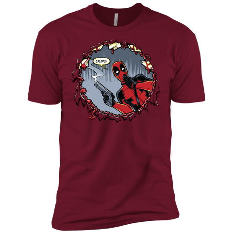 Deadpool 007 Men's Premium T-Shirt