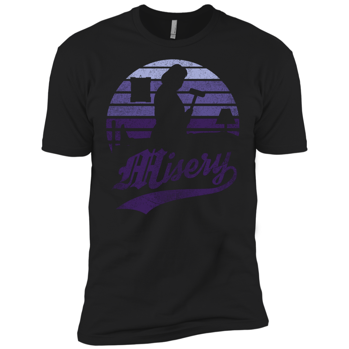 Misery Sun Set Men's Premium T-Shirt