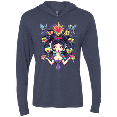 Poisoned Mind Triblend Long Sleeve Hoodie Tee