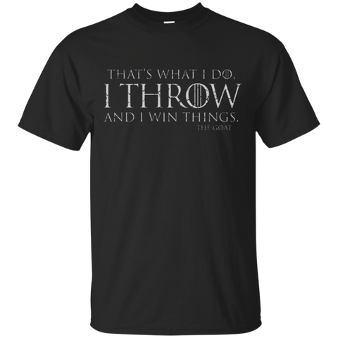 I Throw T-Shirt
