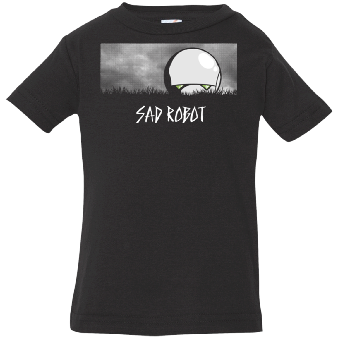 SAD ROBOT Infant Premium T-Shirt