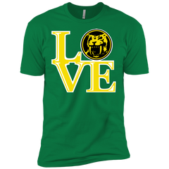 Yellow Ranger LOVE Men's Premium T-Shirt