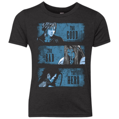 The Good the Bad and the Hero Youth Triblend T-Shirt