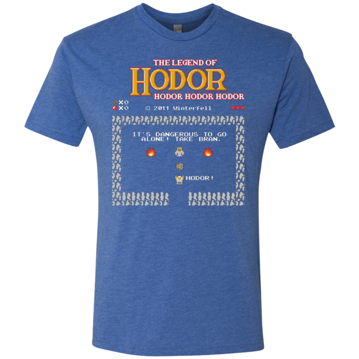 The Legend of Hodor Men's Triblend T-Shirt